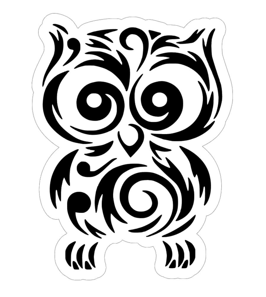 Baby Owl SVG for acrylic blank