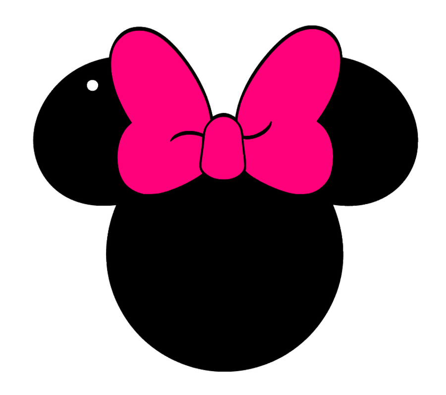 Mouse Ears BIG Bow Acrylic Blank