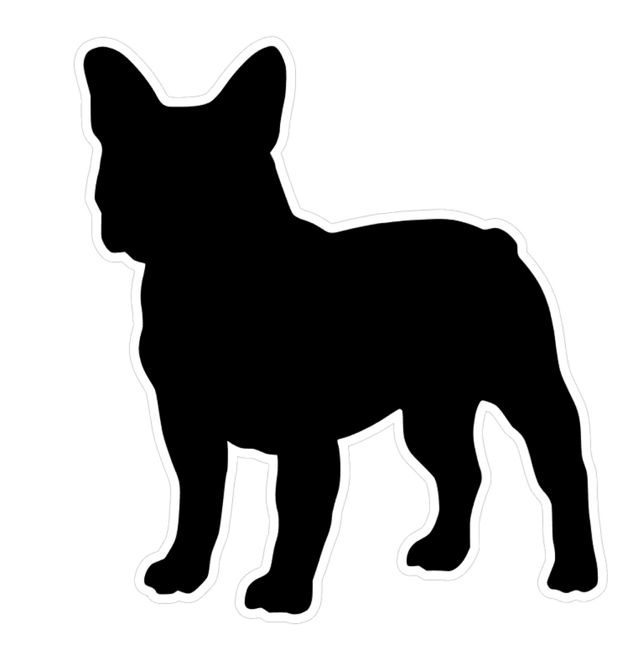 French Bulldog Dog Profile Acrylic Blank