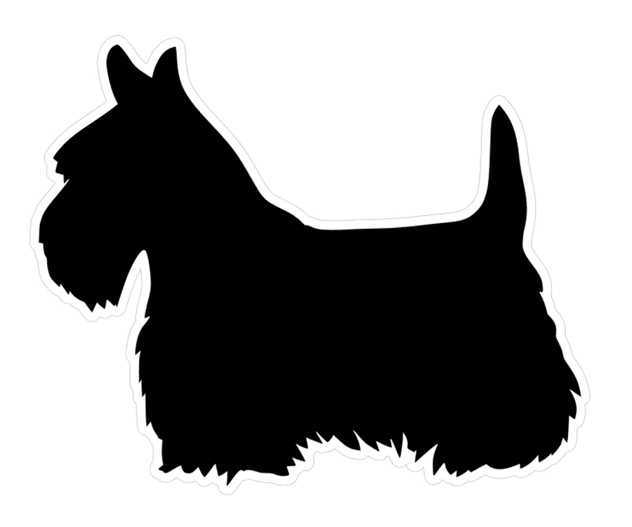 Scottish Terrier Dog Profile Acrylic Blank