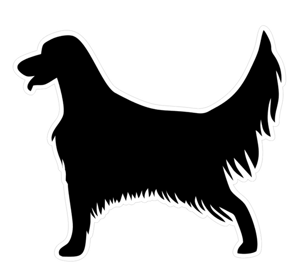 Irish Setter Dog Profile Acrylic Blank