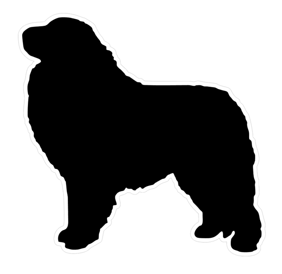 Great Pyrenees Dog Profile Acrylic Blank