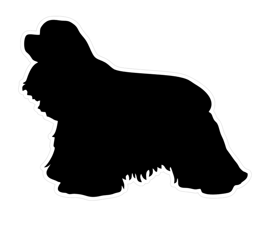 Cocker Spaniel Dog Profile Acrylic Blank