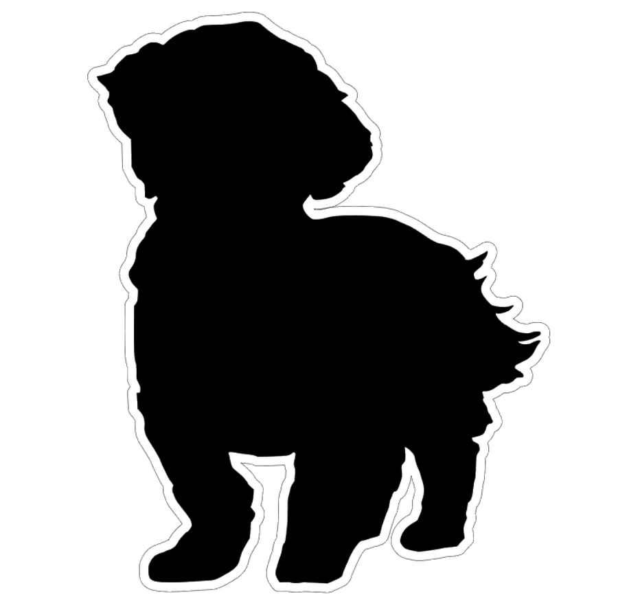 Shih Tzu Short Hair Profile Acrylic Blank