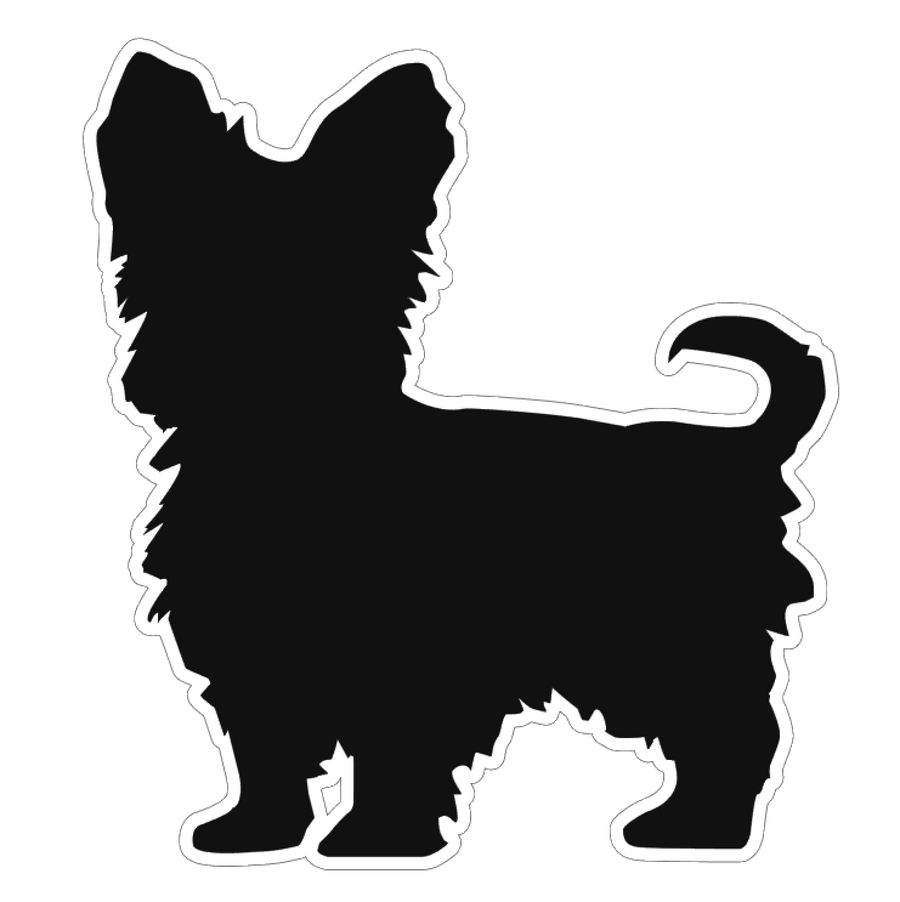 Silky Terrier Dog Profile Acrylic Blank