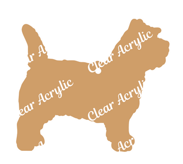 Cairn Terrier Acrylic Blank for keychains