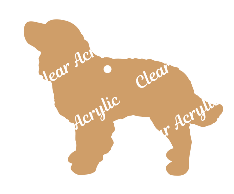 Dog Breed Acrylic blanks for key chains