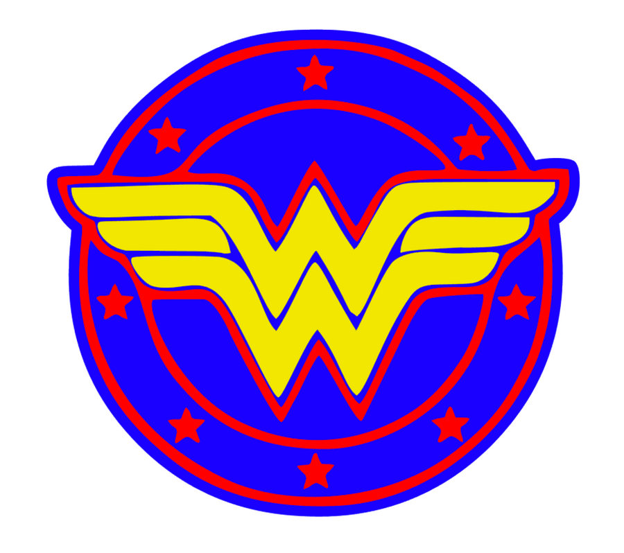 Wonder Woman Acrylic Blank