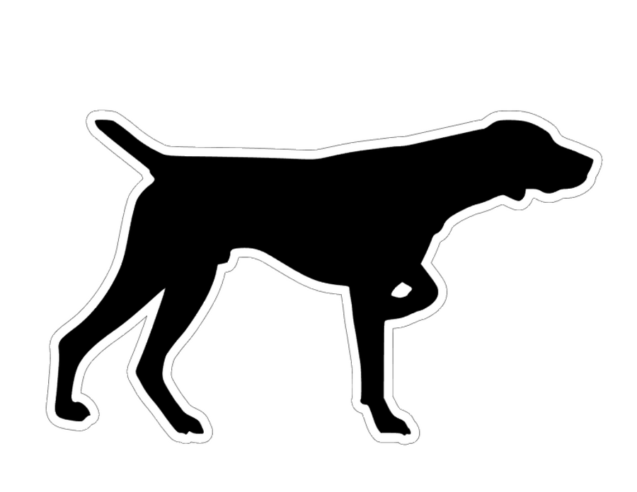 German Short Hair Pointer Profile Acrylic Blank