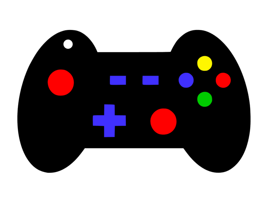 Video Game Control Acrylic Blank