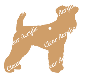 Airedale Terrier Dog Acrylic Blank