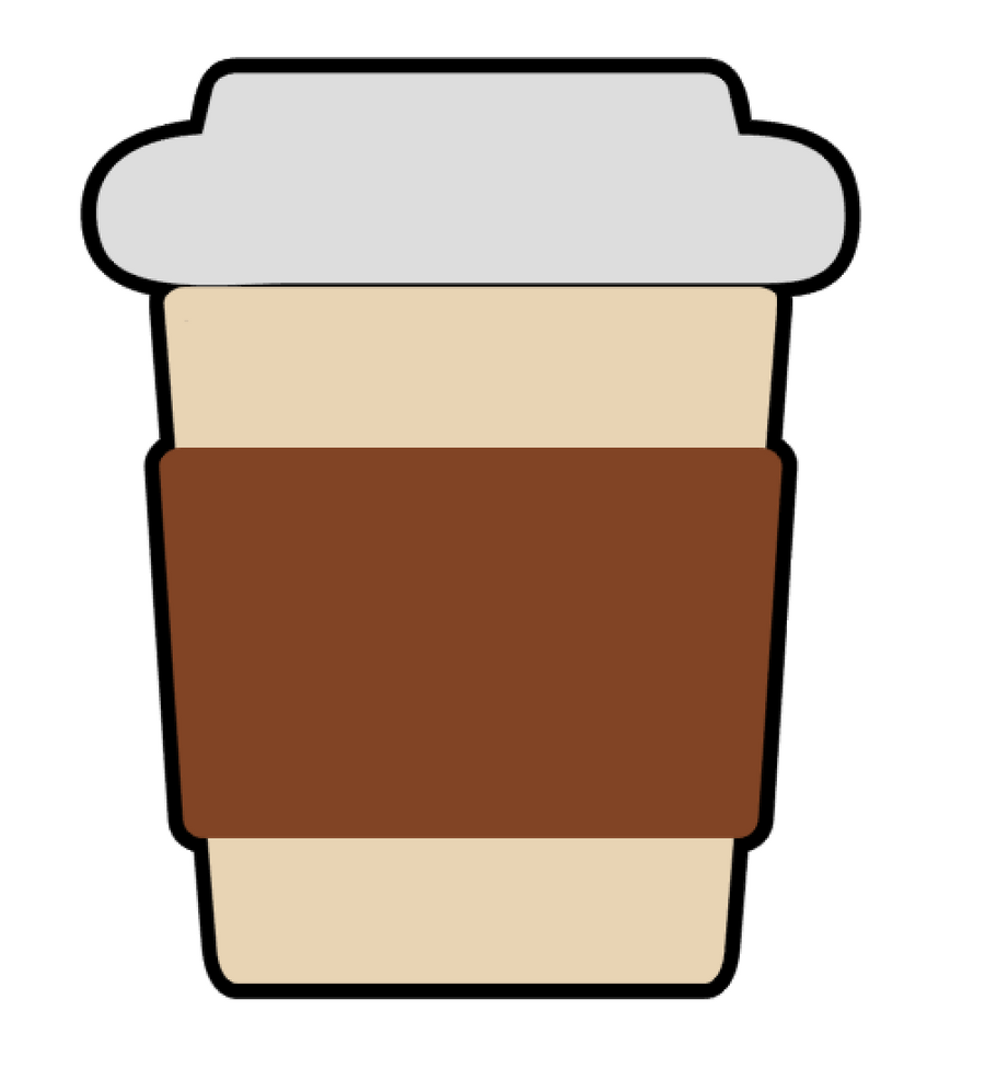Short Coffee ToGo Cup Acrylic Blank