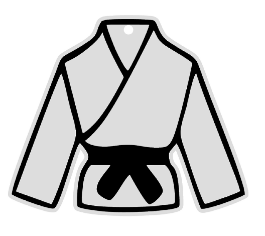 Karate Gi Uniform Acrylic Blank