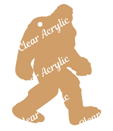Bigfoot Sasquatch Acrylic Blank for Crafts