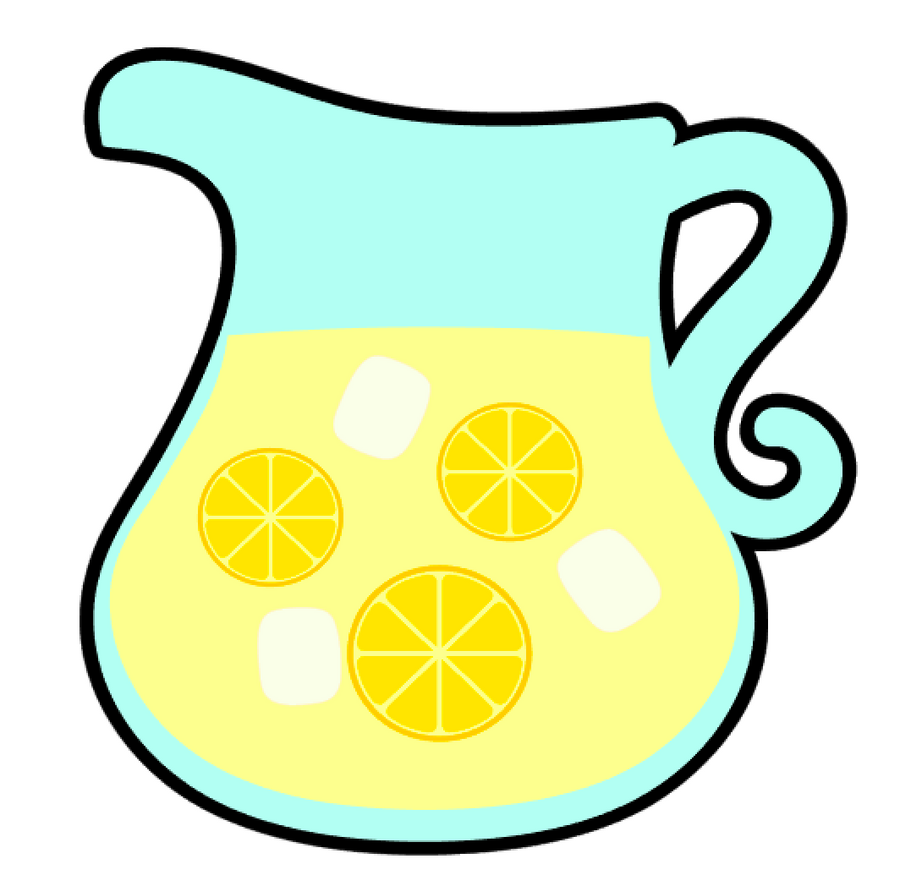 Pitcher Lemonade Acrylic Blank