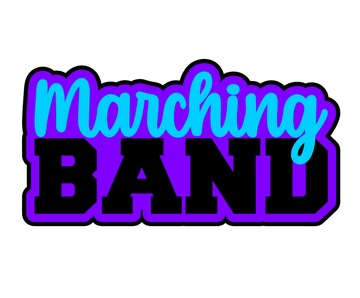 Marching Band Acrylic Blank