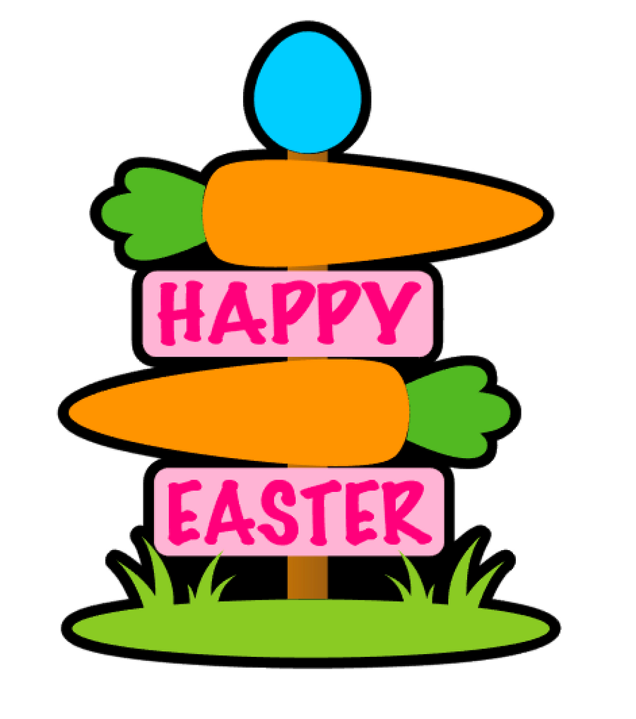 Easter Sign Acrylic Blank