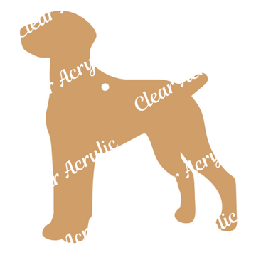 Dog Breed Acrylic Blanks for Key Chain Crafts
