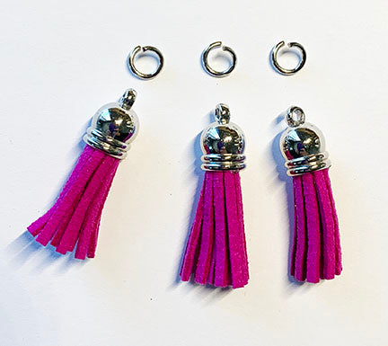 tassel charms for key chain embellishments