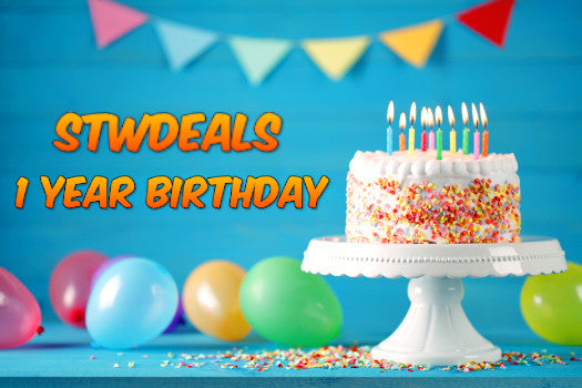 STWDEALS 1 YEAR ANIVERSARY!