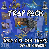 1k 144  traps of your choice. Limit 200 per each trap