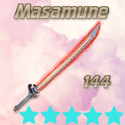 144 Founder's Blazing Masamune - Fire - Max Perks - Rare