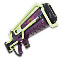 Fortnite  Lvl 144 SUPERCHARGED Argon Assault Rifle