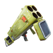 Fortnite LVL 144 Supercharged Quad Launcher