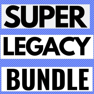 NEW LEGACIES! SUPER LEGACY BUNDLE - 15  Legacy Weapons PL 130