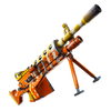 Fortnite  Lvl 144 SUPERCHARGED CANDY CORN LMG