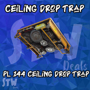 NEW 144 SUPERCHARGED - Ceiling Drop Trap 200x PL 144 Max Perks