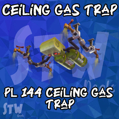 NEW 144 SUPERCHARGED - Ceiling Gas Trap 200x PL 144 Max Perks