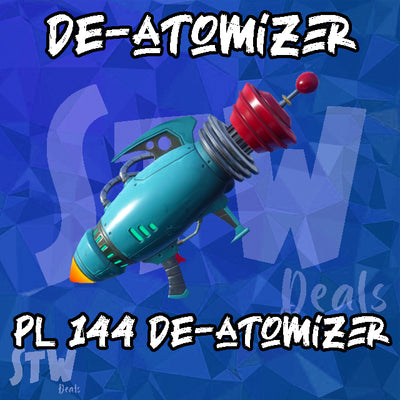 Fortnite  Lvl 144 SUPERCHARGED DE-ATOMIZER