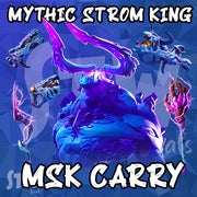 MYTHIC WEAPON SCHEMATIC - MYTHIC STORM KING CARRY - MSK