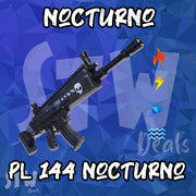 Fortnite Lvl 144 SUPERCHARGED NOCTURNO