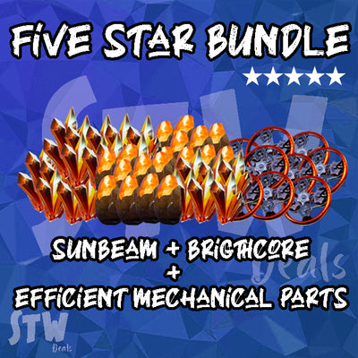 Five Star Bundle - Sunbeam Brightcore Efficient