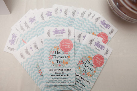 High Texture Tea brochures