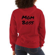 Load image into Gallery viewer, Mom and Boss Hooded Sweatshirt