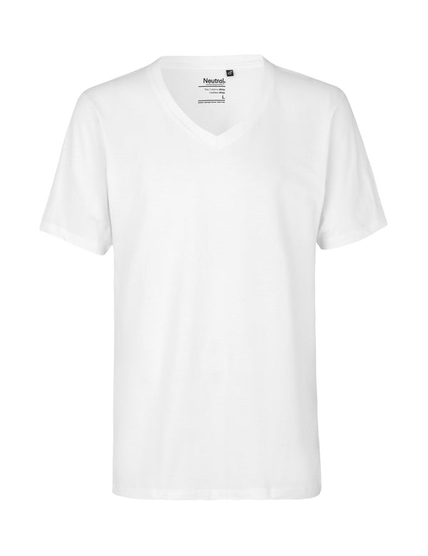 O61015 MENS DEEP V-NECK T-SHIRT