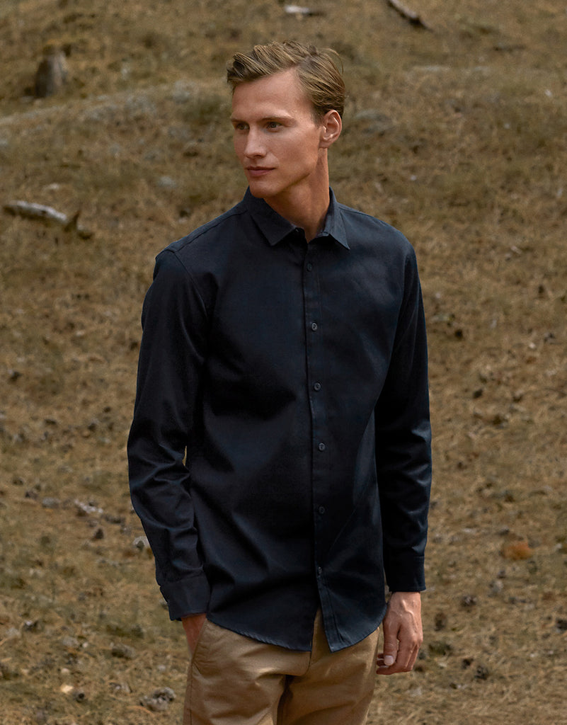 O67001 MENS TWILL SHIRT