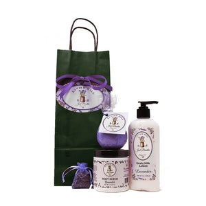 Bath & Body Gift Bag Set - Lavish Hill Farms