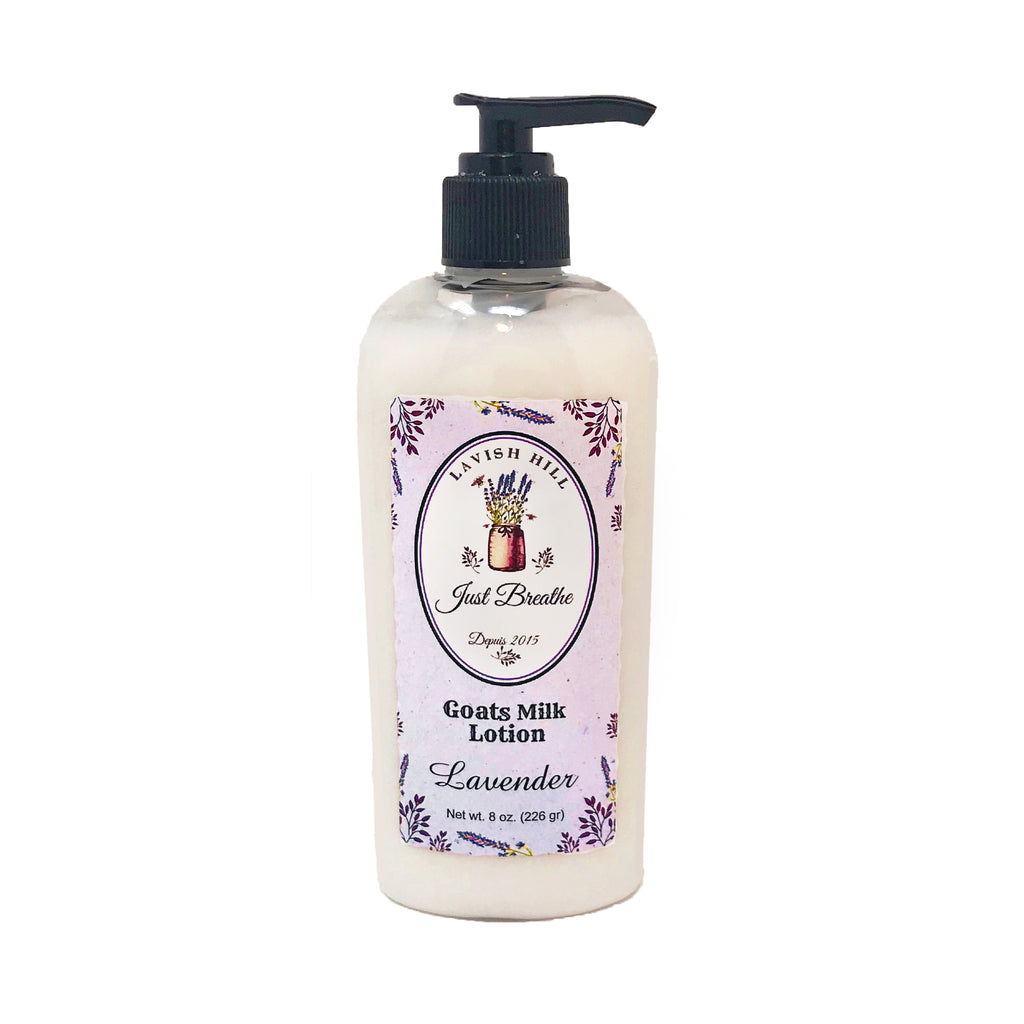 Goats Milk Lavender Lotion - Lavish Hill Farms