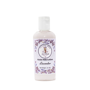 Goat's Milk Lavender Lotion- Small - Lavish Hill Farms