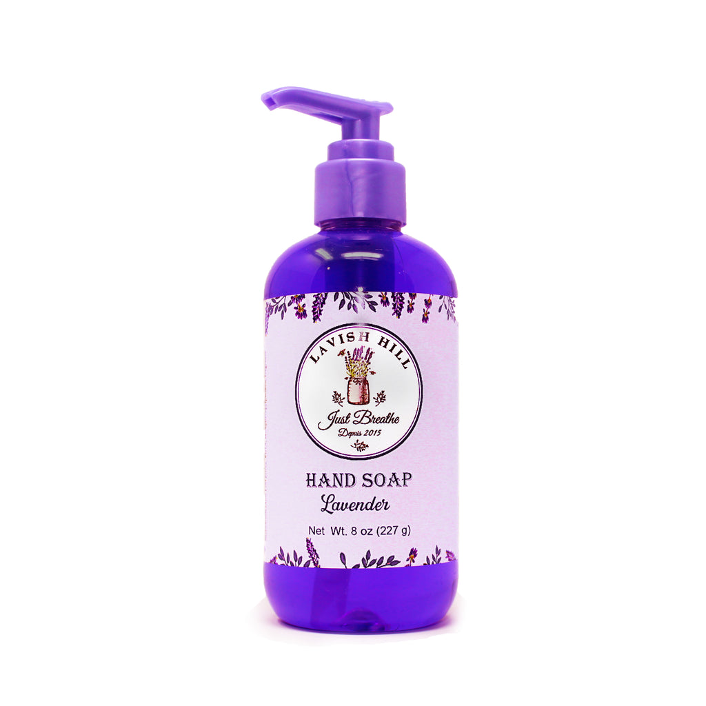 Lavender Liquid Hand Soap - Lavish Hill Farms
