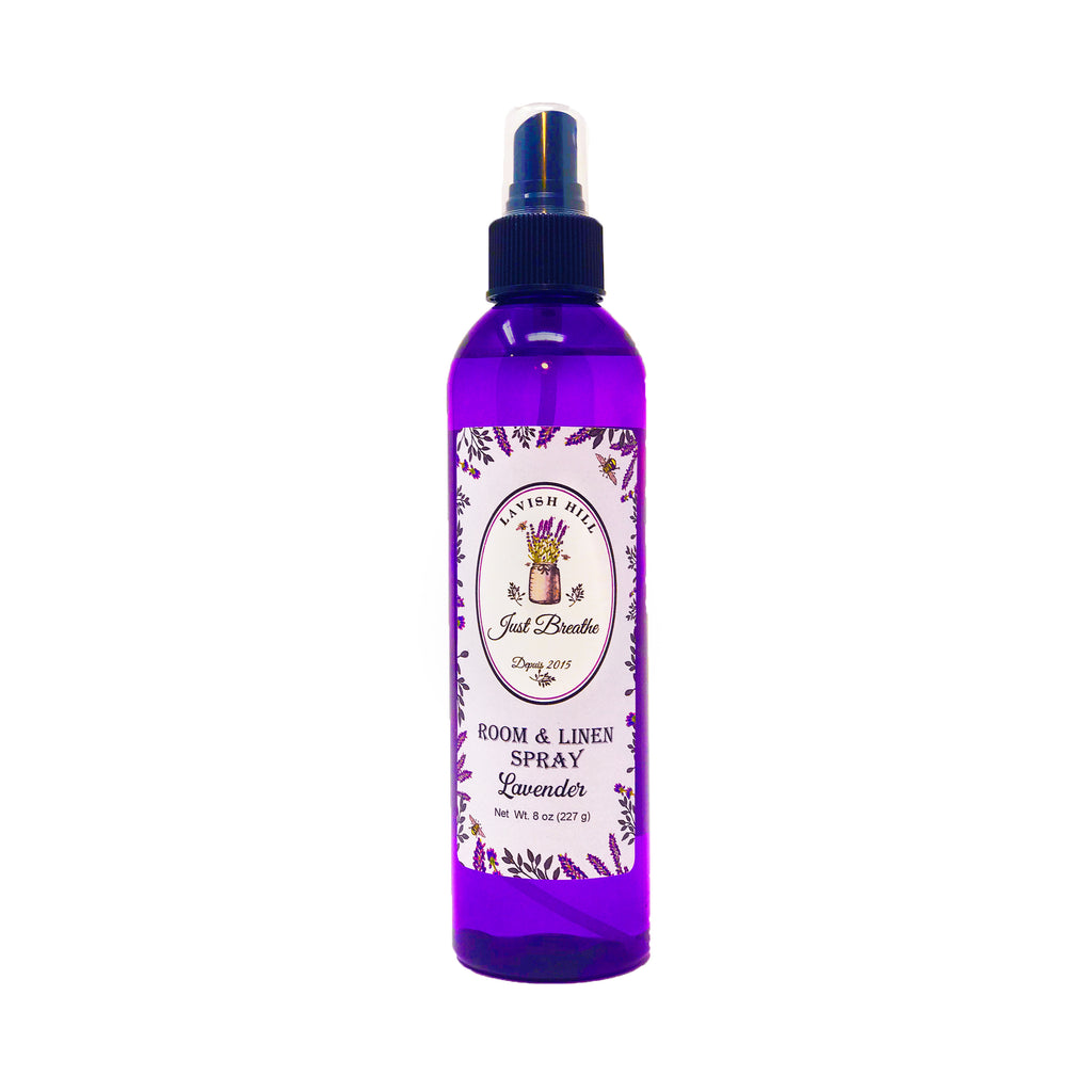 Lavender Room & Linen Spray - Lavish Hill Farms