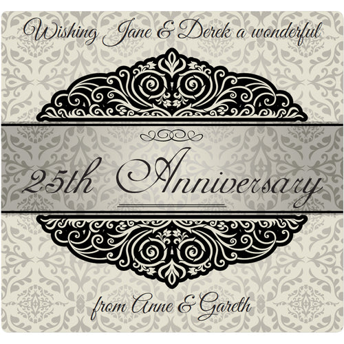 Silver Wedding Anniversary - Corking Idea