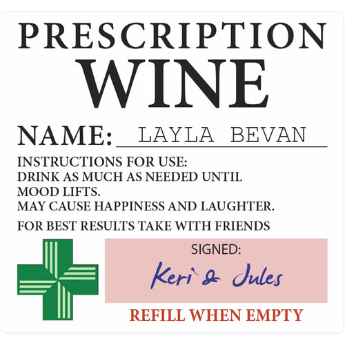 Prescription Wine - Corking Idea