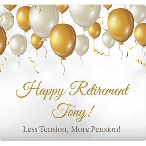 Retirement Balloons - Corking Idea