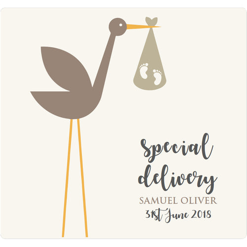 Special Delivery Stork - Corking Idea