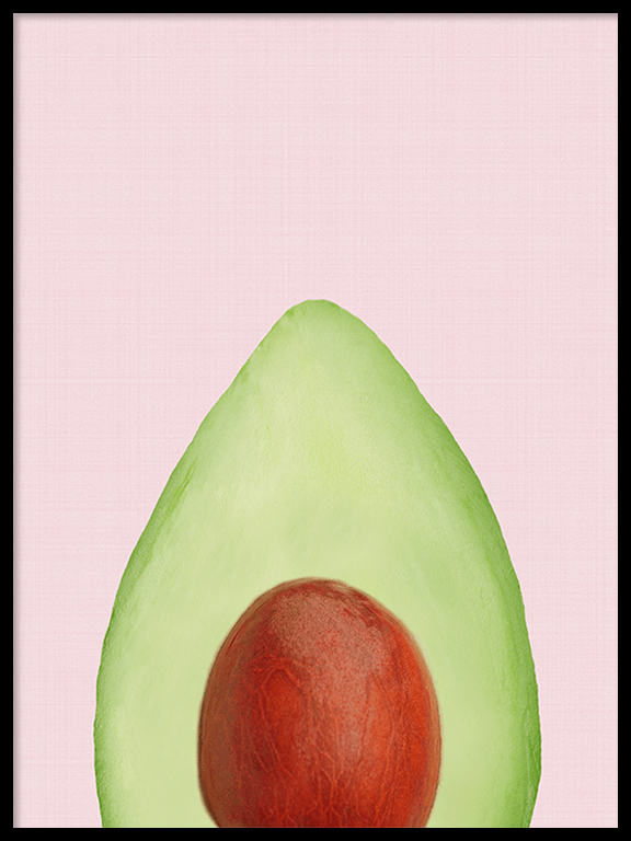 Avocado Wall Art Print - PRRRINT